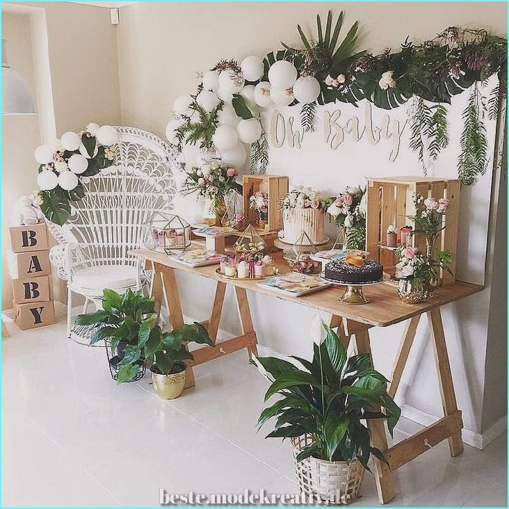 Spectacular 55+ Amazing baby shower decorations to welcome the small bundle of joy