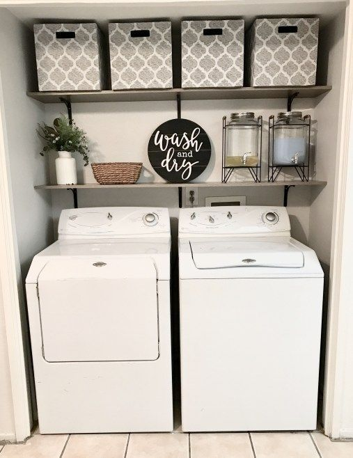 50+ Best Little Laundry Decorating Ideas That Inspire You - Home Accessories Blog