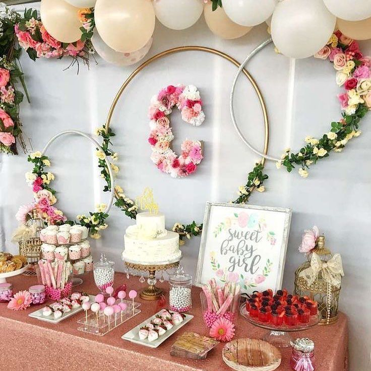 "Stunning Baby Shower Inspo 😍🎉 on Instagram: ""The perfect floral baby sho..."