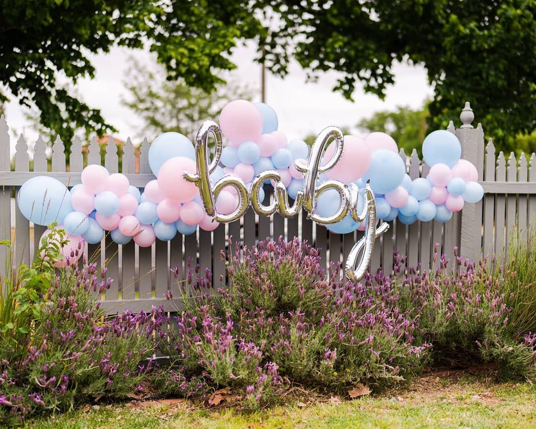 The prettiest garden party for a baby shower 💕 . . . . . . .  #babyshower #ba...