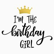 Free Birthday Girl SVG Cut File #birthdaymonth Free Birthday Girl SVG Cut File