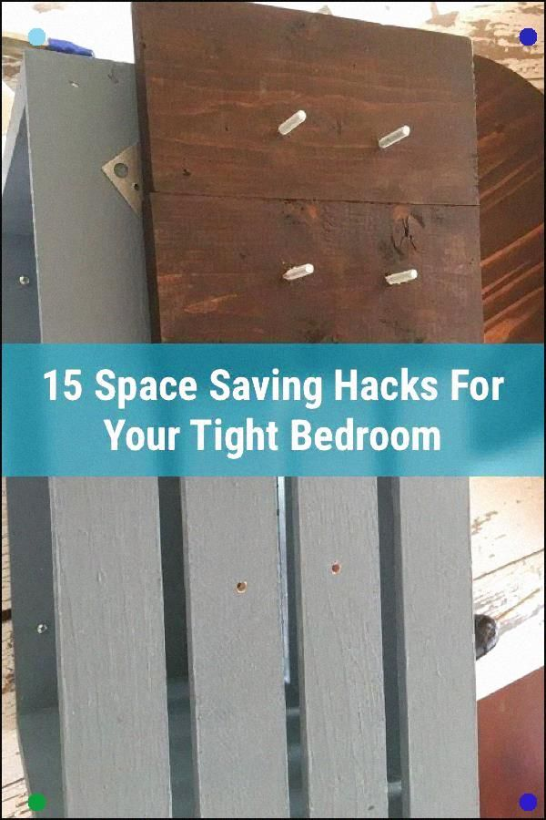 Tired Of Your Cramped Bedroom? Here Are 15 Inspirational Ideas To Make The Most ...