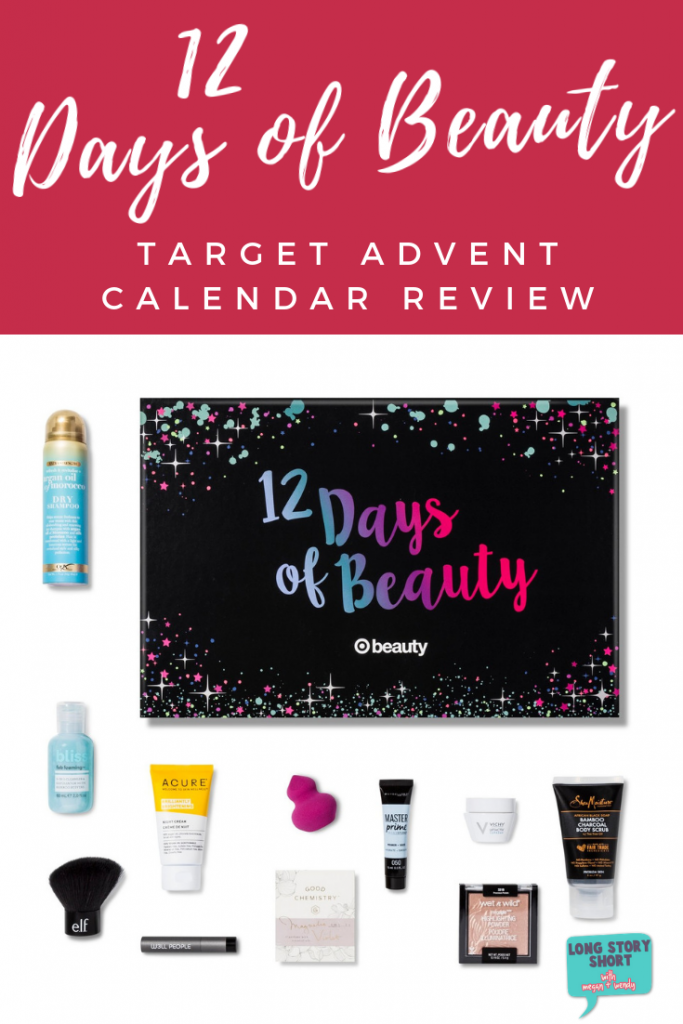 The Target Beauty Advent Calendar is one great gift to give to someone on your l...