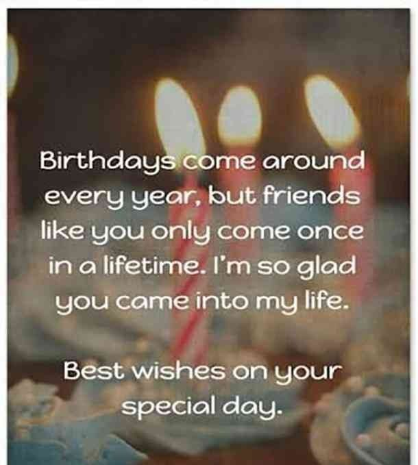 Birthday Wishes to Best Friend - Best Friend Birthday Quotes