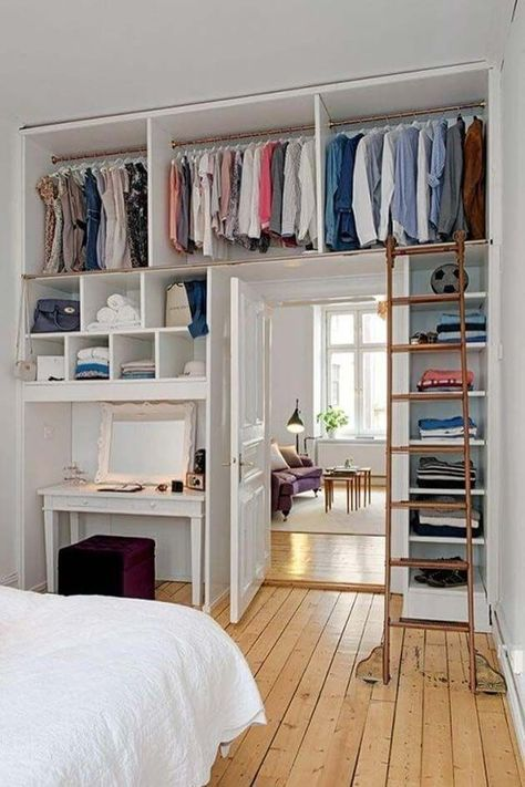 31 ideas for small spaces to maximize your small bedroom - #forap ...